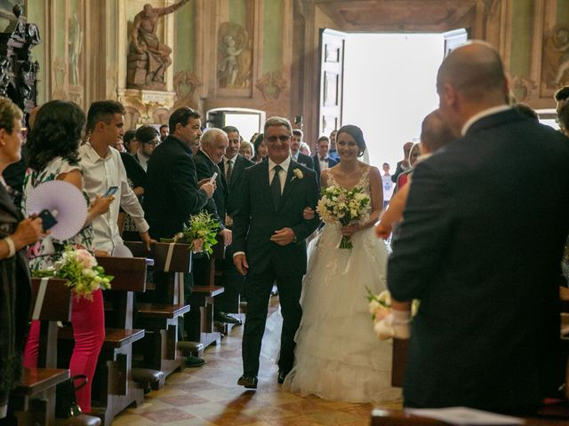 Il matrimonio di Manlio e Laura a Arese, Milano 2