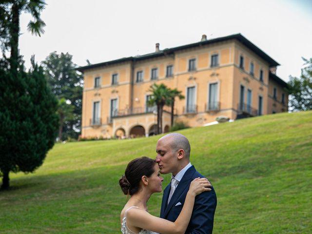 Il matrimonio di Manlio e Laura a Arese, Milano 27