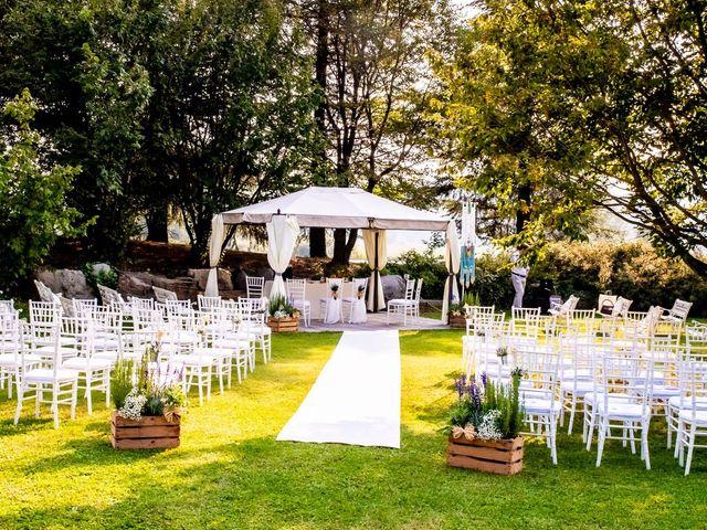 Il matrimonio di Andrea e Clara a Cisano Bergamasco, Bergamo 12
