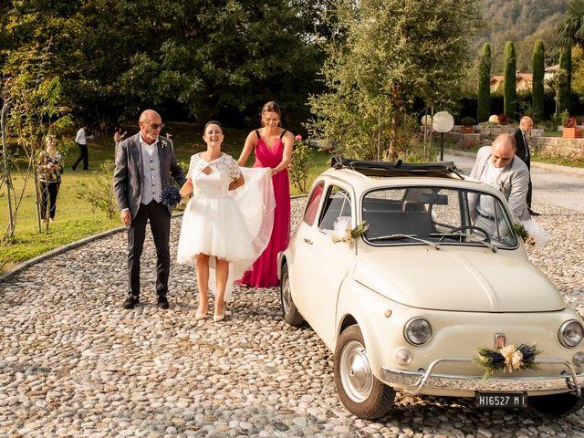 Il matrimonio di Andrea e Clara a Cisano Bergamasco, Bergamo 20