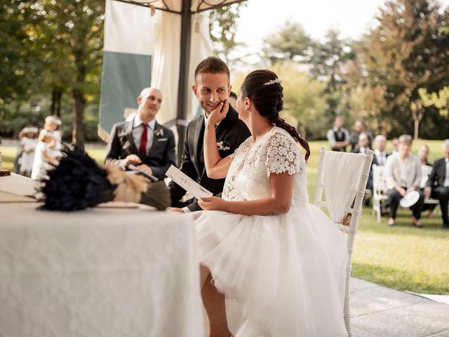 Il matrimonio di Andrea e Clara a Cisano Bergamasco, Bergamo 25