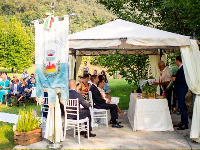 Il matrimonio di Andrea e Clara a Cisano Bergamasco, Bergamo 26