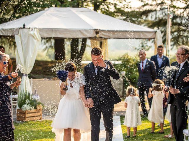 Il matrimonio di Andrea e Clara a Cisano Bergamasco, Bergamo 43