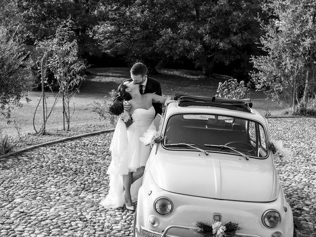 Il matrimonio di Andrea e Clara a Cisano Bergamasco, Bergamo 49