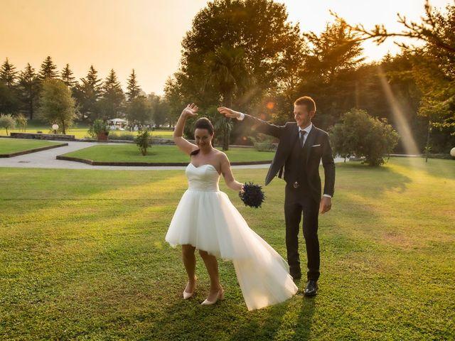 Il matrimonio di Andrea e Clara a Cisano Bergamasco, Bergamo 53