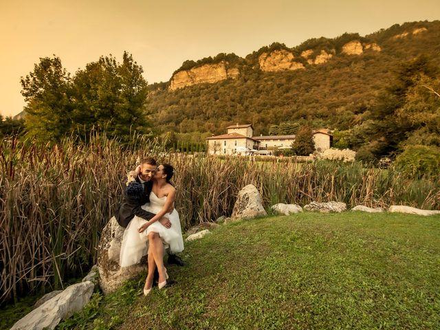 Il matrimonio di Andrea e Clara a Cisano Bergamasco, Bergamo 74