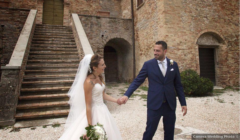 Il matrimonio di Filippo e Veronica a Mombaroccio, Pesaro - Urbino