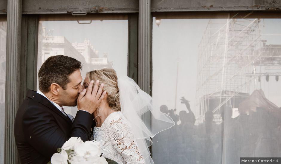 Il matrimonio di Angelo e Elena a Duino-Aurisina, Trieste