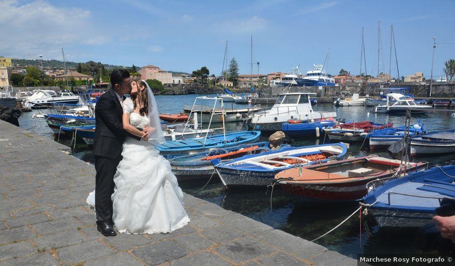 Il matrimonio di angelo e cristina a Catania, Catania