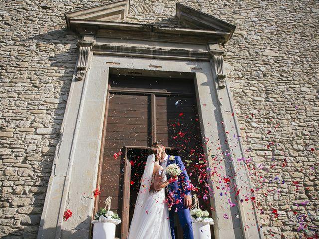 Il matrimonio di Klodian e Lucia a Civitella di Romagna, Forlì-Cesena 23