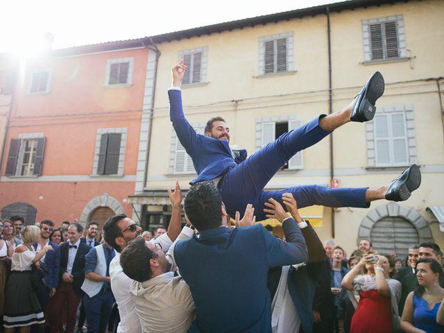 Il matrimonio di Klodian e Lucia a Civitella di Romagna, Forlì-Cesena 24