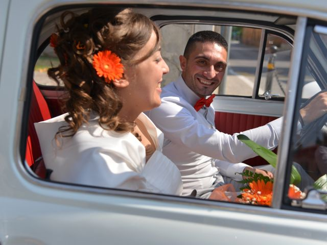 Il matrimonio di Daniele e Luisana a Paderno Franciacorta, Brescia 11