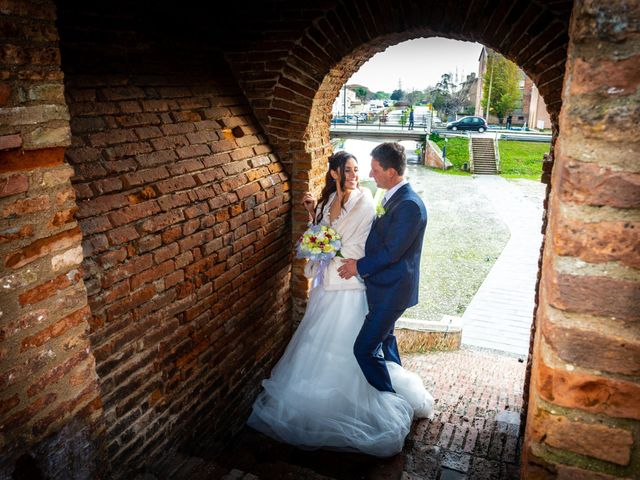 Il matrimonio di Diego e Federica a Ravenna, Ravenna 109