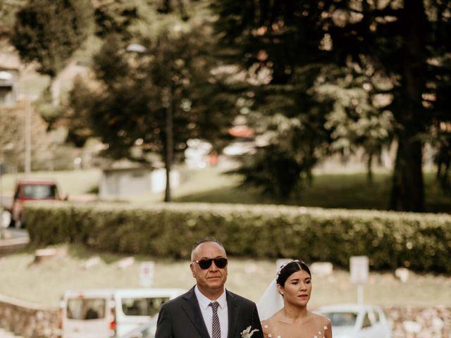 Il matrimonio di Niccolò e Nicole a Lenna, Bergamo 8