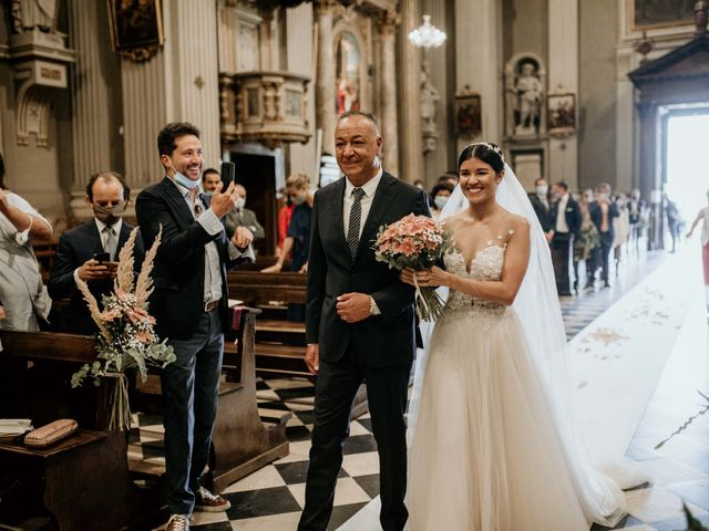 Il matrimonio di Niccolò e Nicole a Lenna, Bergamo 1