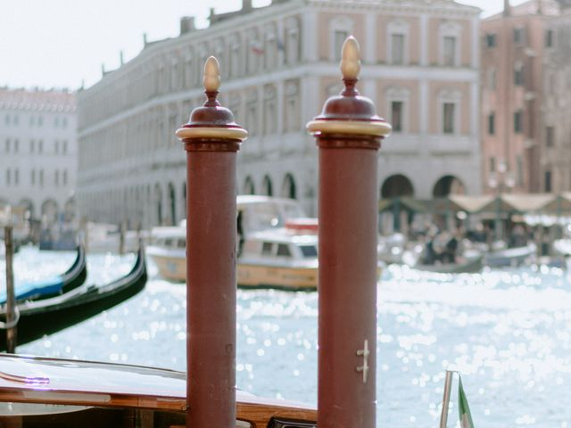 Il matrimonio di Ryan e Alicia a Venezia, Venezia 15