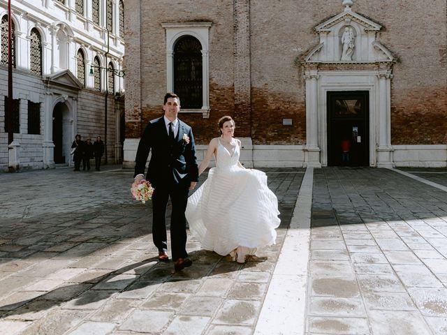Il matrimonio di Ryan e Alicia a Venezia, Venezia 50