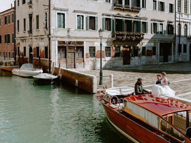 Il matrimonio di Ryan e Alicia a Venezia, Venezia 51