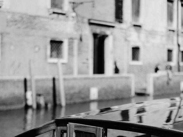 Il matrimonio di Ryan e Alicia a Venezia, Venezia 52