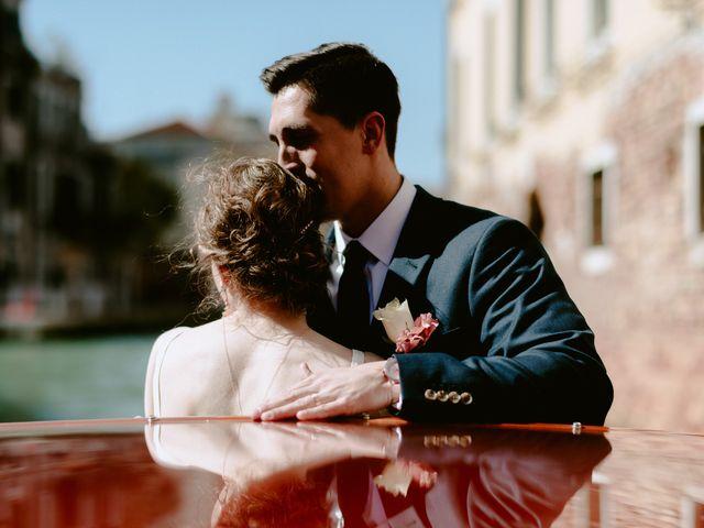 Il matrimonio di Ryan e Alicia a Venezia, Venezia 53
