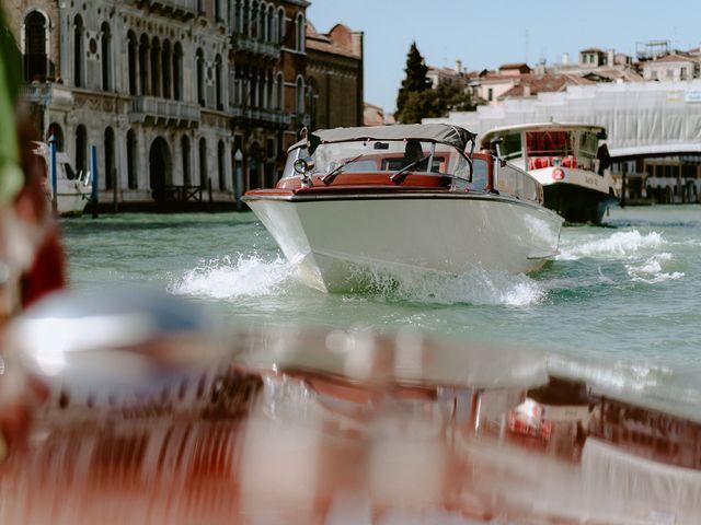 Il matrimonio di Ryan e Alicia a Venezia, Venezia 55