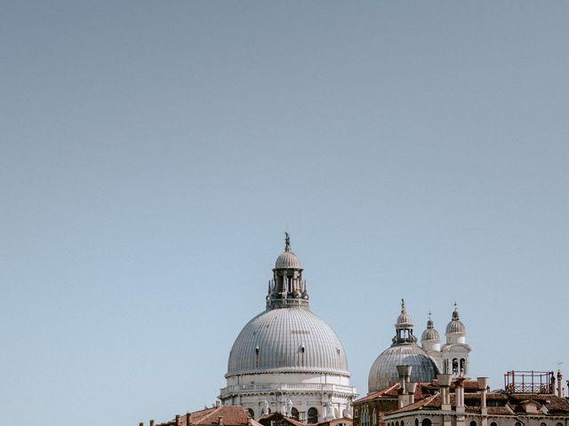 Il matrimonio di Ryan e Alicia a Venezia, Venezia 56