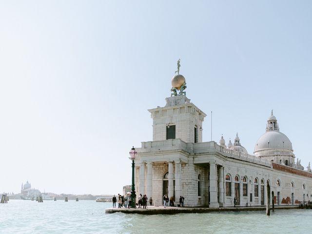 Il matrimonio di Ryan e Alicia a Venezia, Venezia 58
