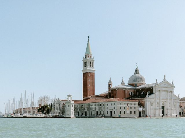 Il matrimonio di Ryan e Alicia a Venezia, Venezia 60