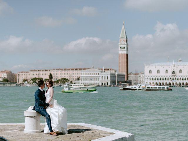 Il matrimonio di Ryan e Alicia a Venezia, Venezia 63