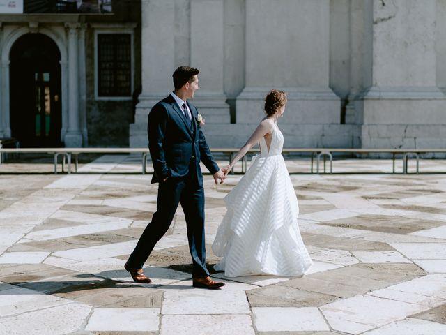 Il matrimonio di Ryan e Alicia a Venezia, Venezia 64