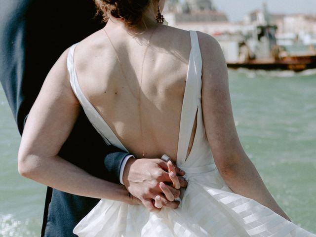 Il matrimonio di Ryan e Alicia a Venezia, Venezia 69