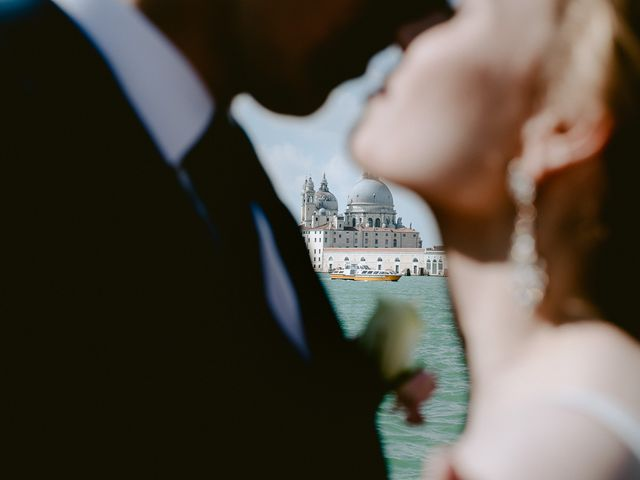 Il matrimonio di Ryan e Alicia a Venezia, Venezia 70
