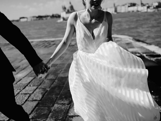 Il matrimonio di Ryan e Alicia a Venezia, Venezia 72