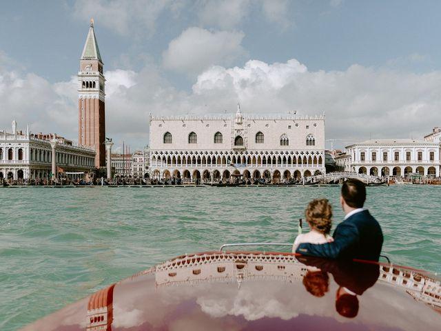Il matrimonio di Ryan e Alicia a Venezia, Venezia 74
