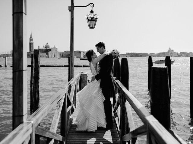 Il matrimonio di Ryan e Alicia a Venezia, Venezia 76