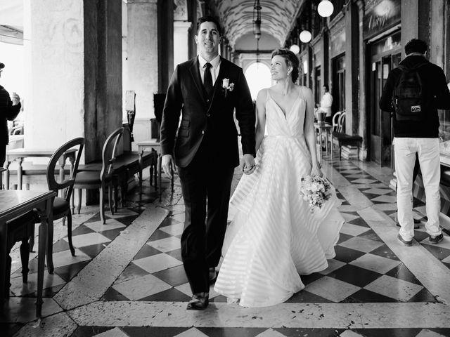 Il matrimonio di Ryan e Alicia a Venezia, Venezia 78