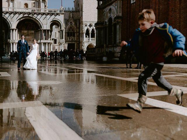 Il matrimonio di Ryan e Alicia a Venezia, Venezia 80