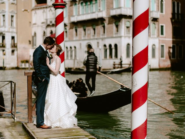 Il matrimonio di Ryan e Alicia a Venezia, Venezia 90