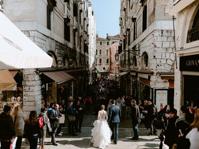 Il matrimonio di Ryan e Alicia a Venezia, Venezia 91