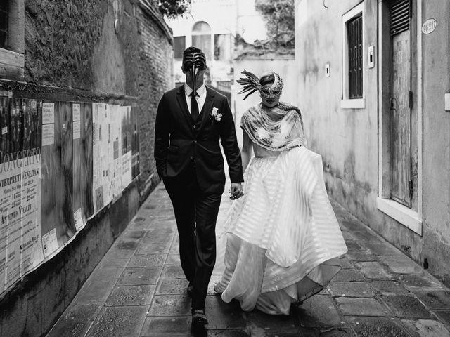 Il matrimonio di Ryan e Alicia a Venezia, Venezia 93