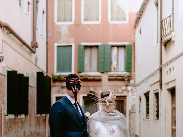 Il matrimonio di Ryan e Alicia a Venezia, Venezia 94