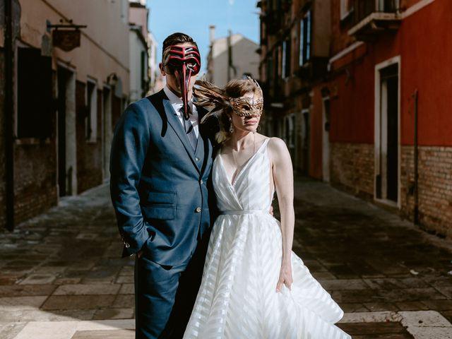 Il matrimonio di Ryan e Alicia a Venezia, Venezia 96