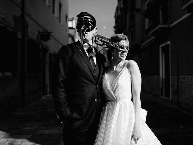 Il matrimonio di Ryan e Alicia a Venezia, Venezia 97