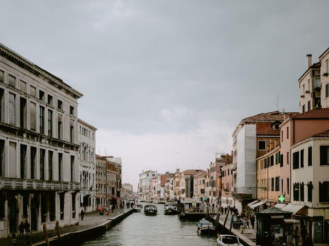 Il matrimonio di Ryan e Alicia a Venezia, Venezia 98