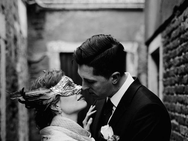 Il matrimonio di Ryan e Alicia a Venezia, Venezia 100