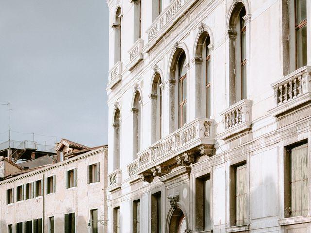 Il matrimonio di Ryan e Alicia a Venezia, Venezia 104