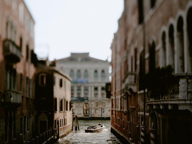 Il matrimonio di Ryan e Alicia a Venezia, Venezia 106
