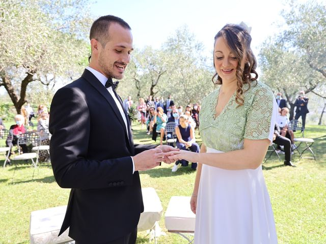 Il matrimonio di Giulio e Elisa a Pieve a Nievole, Pistoia 49
