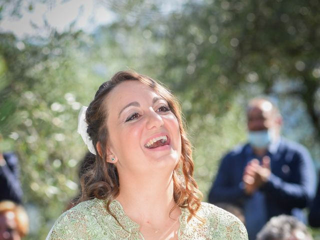 Il matrimonio di Giulio e Elisa a Pieve a Nievole, Pistoia 55