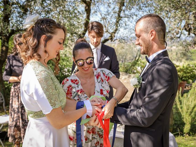 Il matrimonio di Giulio e Elisa a Pieve a Nievole, Pistoia 59